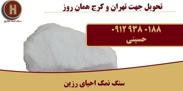 فروش سنگ نمک احیای رزین